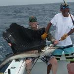 Great day on the water. Nice sailfish.