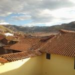 View from Hotel room onto Cusco