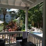 View from the Royal Poinciana cottage.