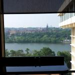 Concierge Lounge view of Georgetown