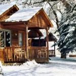 Sweetheart Cabin in winter
