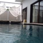 Sunset from and private pool at 8854, cloudburst at the pool overlooking Kata Noi beach
