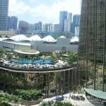 facing klcc convention centre/ pool view