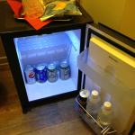 Free mini bar topped up everyday