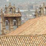 ... roof top terrace view of bell towers