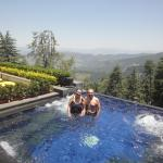 Wildflower Hall, Shimla in the Himalayas Foto