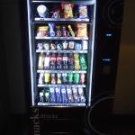 The vending machines - no minibars!