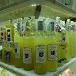 Limoncello factory is located beside hotel entry