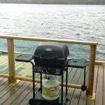 BBQ on private dock