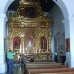 The Monastery Altar, up on the opposite Hill from the Fort.