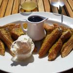 Captain Crunch French Toast.