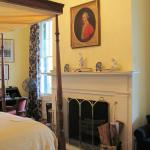 Louise Suite Fireplace