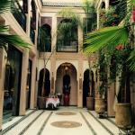 Gorgeous courtyard at Dar Anika