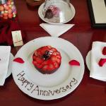 our anniversary surprise in our room