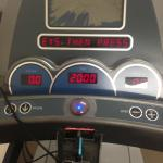 Treadmill with broken emergency stop button
