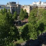 View of Rembrandt Sq from the room