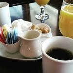 Coffee and Juice Service at Restaurant