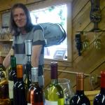 Martin at Promeny (True Vine) Olive Oil and Wine Tasting