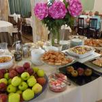Just one part of the breakfast buffet
