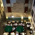 View from third floor window - da Franco Ristorante