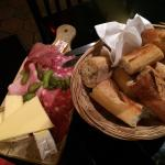 Wonderful cheese and bread!