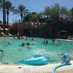 Fabulous Vegas style huge pool for adults and children.