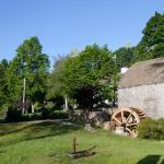 Grist Mill and pond across the street