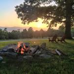 View at sunset from Fire pit