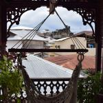 Private balcony with hamaca
