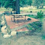 Patio Site for RV Camers