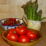 Only the freshest & most local produce at Bluefish B&B