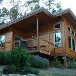 View of our cabin