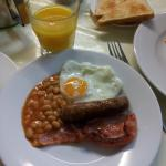 English breakfast servita dalle 7.30am alle 9am