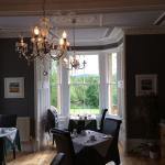 Especially sweet and picturesque dining room