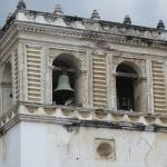 Top of one of the bell towers