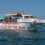 Captain Nick's Aphrodite Glass Bottom Boat