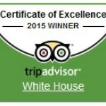Certificate of Excellence - Winner of the Year 2015 by Tripadvisor