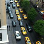 Morning rush on South Park avenue