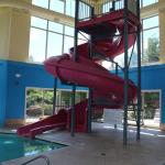 Super8 pool area slide full