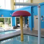 Super8 pool area whirlpool