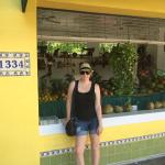 the fruit market - great for fresh juices and coffee