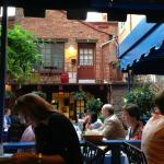 Courtyard, outdoor seating