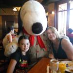 Hotel Restaurant: Amber Waves: breakfast with Snoppy is included