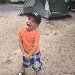 Kids love the camping!  Bathroom/showers are amazing and VERY clean.