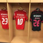 the locker room of the portugese team in the stadium walking tour