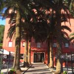 Hotel Palme, Front Courtyard