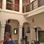 Interior of Riad