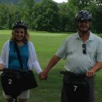 The Segway tour is a great way to explore the property early in your stay