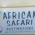 Our safari van organized by Kikuyu lodge