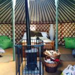 Foto van East Thorne-Cornwall Yurts and Cottages